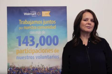 Gisela Noble, testimonio sobre el voluntariado de Walmart