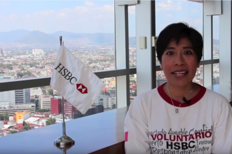 Ana Delgado, testimonio de una voluntaria de HSBC