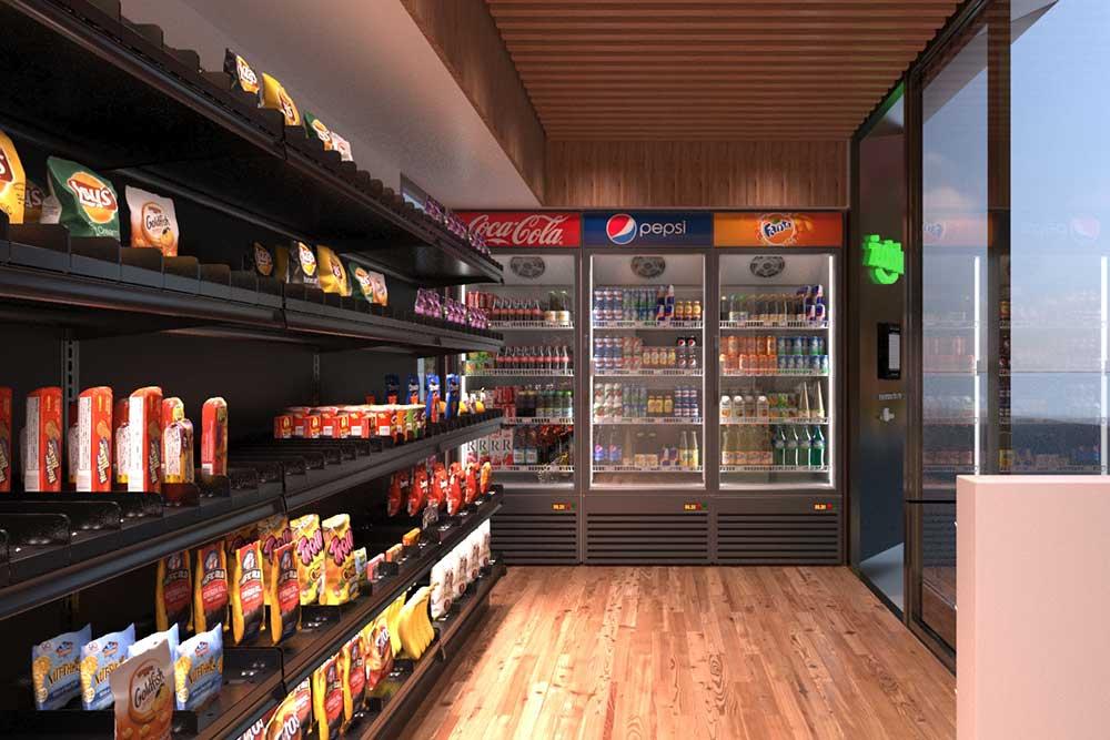 Container Tienda de Conveniencia